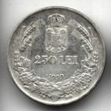 250 LEI 1939 ARGINT STARE EXCELENTA - Moneda Romania