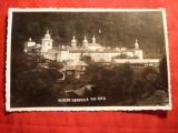 Ilustrata - Manastirea Secu - Vedere generala , circulat 1942 , cenzurat