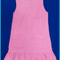 IMPECABIL _ Sarafan fetite, practic, din doc roz, ALIVE _ fete   11 - 12 ani - Sarafan copii