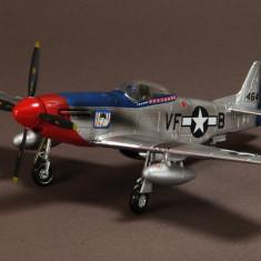 Macheta avion North American P-51D Mustang WAR MASTER scara 1:72 - Macheta Aeromodel