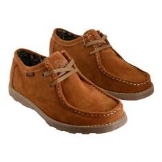 Pantofi pentru barbati Patira Mardini Light Brown (PM2) - Pantof barbat, Marime: 44, Culoare: Maro