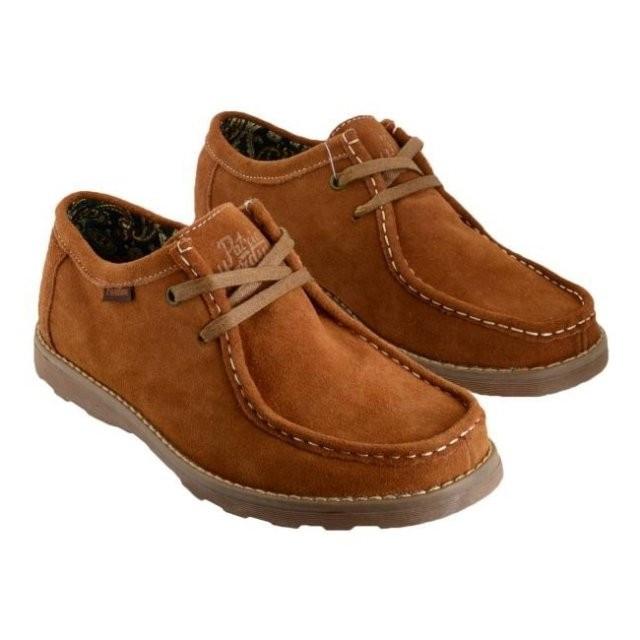 Pantofi pentru barbati Patira Mardini Light Brown (PM2) foto mare