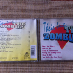 The zombies their best anii 60 hituri cd disc muzica rock beat compilatie vest