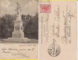 Salutari din Bucuresti -Statuia,  Monumentul Eliade - clasica, Circulata, Printata