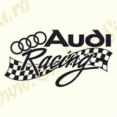 Audi Racing_Sticker Auto_TuningCod: CSTA-822 Dim.:  20 cm. x 10.6 cm.