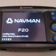 GPS Navman F20, Fara harta, Fara actualizare