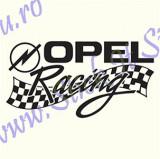 Opel Racing_Sticker Auto_TuningCod: CSTA-827 Dim.: 20 cm. x 10.4 cm.