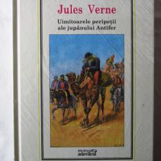 """""""UIMITOARELE PERIPETII ALE JUPANULUI ANTIFER"""",  Jules Verne. Noua, in tipla, Alta editura"""