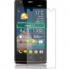 Folie Acer Liquid E3 Transparenta