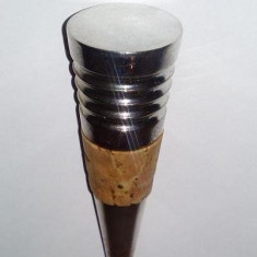 Dop sticla metalic