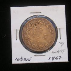 CMR1 - 10 BANI 1867 WATT