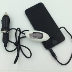 Modulator FM cu functie HANDSFREE - Modulator FM auto