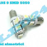 LED-URI AUTO BEC LED - BA9S BAX9S 9 SMD POZITIE, PLAFONIERA, NUMAR - Led auto, Universal