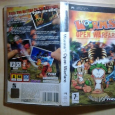 Worms Open Warfare - Joc PSP ( GameLand ) - Jocuri PSP, Strategie, Toate varstele, Multiplayer