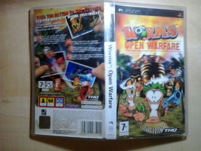 Worms Open Warfare - Joc PSP   ( GameLand ) foto mare