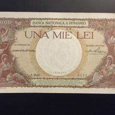 1000 lei 1936 - xf - aunc SUPERB - Bancnota romaneasca