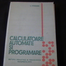 CALCULATOARE AUTOMATE SI PROGRAMARE-A. POPESCU-501 PG- - Carti Automatica