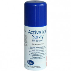 KELEN ACTIVE ICE spray pt sport fotbal etc - Clorura Etil reala, nu doar numele!