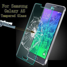 Folie Samsung Galaxy A5 A500 Transparenta- sticla - Folie de protectie Pinlo, Anti zgariere