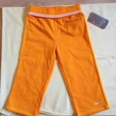 Pantaloni copii NIKE originali 6X NOI, Culoare: Orange, Unisex