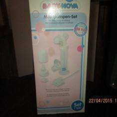 Vand pompa lapte pentru san - Pompa San Altele, Manuala