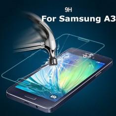 Folie Samsung Galaxy A3 A300 Transparenta - sticla - Folie de protectie Pinlo, Anti zgariere