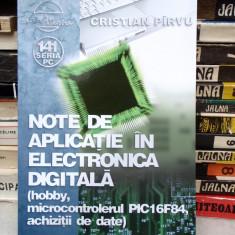 NOTE DE APLICATIE IN ELECTRONICA DIGITALA, CRISTIAN PARVU, 2007 - Carte software