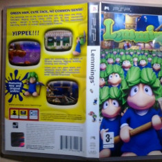 Lemmings - Joc PSP ( GameLand ) - Jocuri PSP, Arcade, Toate varstele, Single player