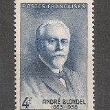 Franta.1942 A.Blondel-fizician SF.130, Nestampilat