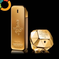 OFERTA !!! Set parfumuri Paco Rabanne One Million 100 ml + Million Lady 80 ml