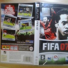 FIFA 07 - Joc PSP ( GameLand ) - Jocuri PSP, Sporturi, 3+, Single player