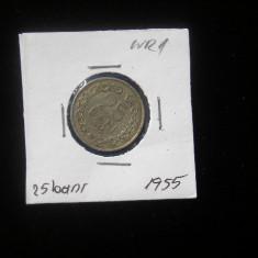 CMR1 - 25 BANI 1955 - Moneda Romania