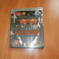 Joc PS3 - Killzone 2 Limited Edition Collector's Box , steelbook