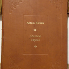 ARMATA ROMANA-MARELUI EI CAPITAN (ALBUMUL ARMATEI ROMANE-10 MAI 1902) - Carte de lux