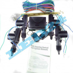 Inchidere centralizata cu 2 telecomenzi si 4 actuatoare CARTECH CWR13A - Inchidere centralizata Auto