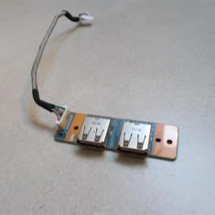 Modul 2 x USB Sony Vaio VGN NR21S / PCG 7121M - Cabluri si conectori laptop Sony, Cabluri USB