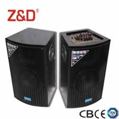 2 BOXE ACTIVE,MIXER,MP3 PLAYER USB,INTRARI MICROFOANE,EFECTE VOCE+2 MICROFOANE.