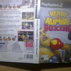 Ready 2 rumble boxing Round 2 - JOC PS2 Playstation ( GameLand ) - Jocuri PS2, Sporturi, 3+, Multiplayer