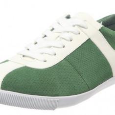 40_Adidasi originali Calvin Klein Jeans_tenisi CKJ_piele naturala nappa - Tenisi barbati Calvin Klein, Culoare: Verde