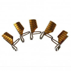 Sabloane Refolosibile Gold - 5 bucati - Tratament unghii