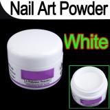 Pudra, praf acrilic alb french acryl pentru constructie unghii 12g, Gel de constructie