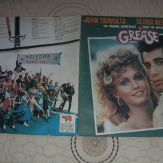 GREASE-TRAVOLTA, NEWTON-JOHN-VINIL - Muzica Rock & Roll Altele