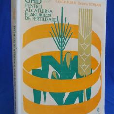 CRISTIAN HERA - GHID PENTRU ALCATUIREA PLANURILOR DE FERTILIZARE - 1975