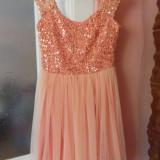 Rochie roz marimea S-M