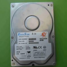 Hard Disk HDD 80GB ExcelStor Jupiter J680 ATA IDE