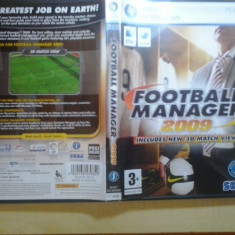 Joc PC - Football manager 2009 (GameLand - sute de jocuri) - Jocuri PC, Strategie, 3+