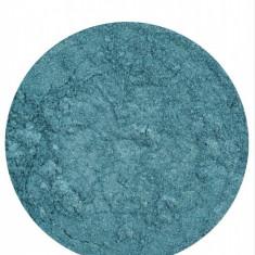 Pigment verde smarald pentru gel uv / acril Nded Germania, 3 gr, nr. 2301 - Gel unghii Nded, Gel colorat