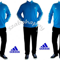 Trening Adidas barbati. - Trening barbati Adidas, Marime: S, Culoare: Turcoaz, Bumbac