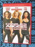 CHARLIE'S ANGELS - FULL THROTTLE - film ACTIUNE 1 DVD (original, CA NOU!!!), Engleza