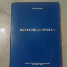 E0 Dr. Ion Diaconu - Drepturile omului - Carte CEDO